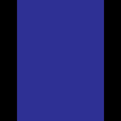 A blue Icon of a nurse
