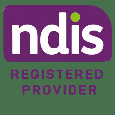 Logo of ndis registered provider